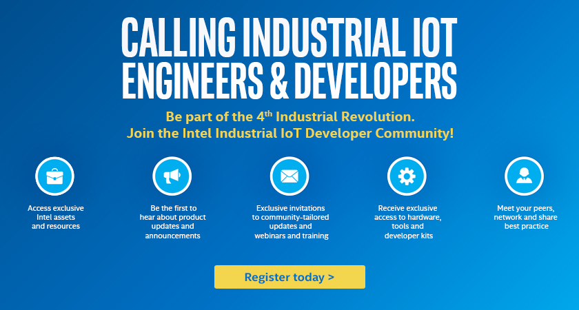 Calling Industrial IOT engineers & Devlopers